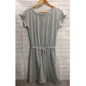 UNIQLO Gray Terry Cloth Dress
